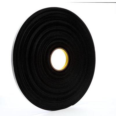 3M™ Vinyl Foam Tape 4508 Black, 1/2 in x 36 yd