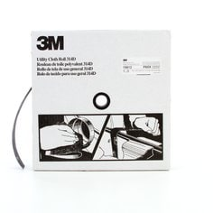 3M™ Utility Cloth Roll 314D, 1-1/2 in x 50 yd P60 X-weight