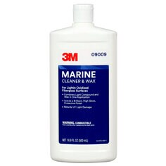 3M™ Marine Cleaner and Wax, 09009, 16 oz
