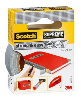 Scotch® SUPREME Gewebeband Strong & Easy 4105S19