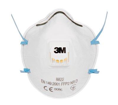 3M™ 8822 Respiratore a tazza per particolato