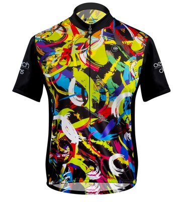 Aero Tech Women's Peloton Jersey Hide A Rider with 3M Scotchlite Reflective Material