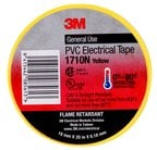 1710N PVC Electrical Tape Yellow Image
