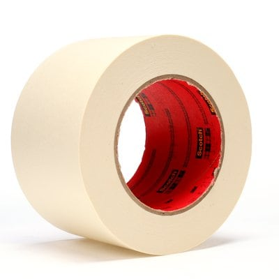 Scotch® High Performance Masking Tape 213 Tan, 3inx60 yd 6.5 mil