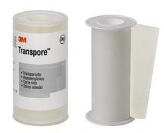 Fita Médica Transparente 3M™Transpore™ 1527 - 10 cm x 4,5 m