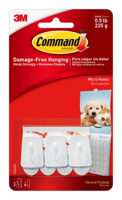 17066ES Command™ Micro Hooks