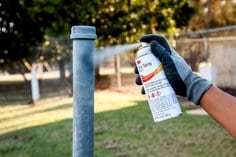 3M(TM) Zinc Spray, 16-501, Comfort Grip, fence application