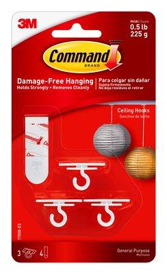 17008-ES Command™ Ceiling Hooks