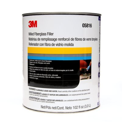 3M™ Short Strand Fiberglass Reinforced Filler, 05816, 1 Gallon