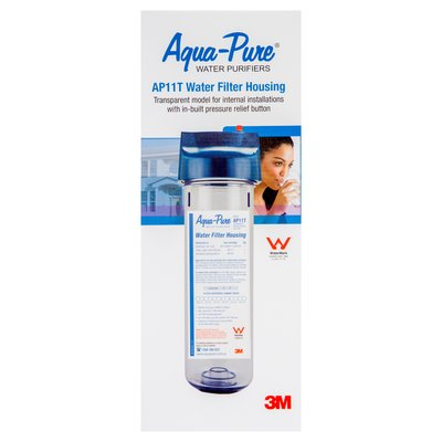 "Aqua-Pure(TM) 1 High 3/4"" BSPT Transparent Filter Housing, AP11T"