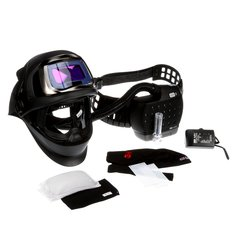 3M™ Speedglas™ Welding Helmet 9100-FX Air, 36-1101-20SW-CA, shades 5 & 8-13 and shade 3 light state