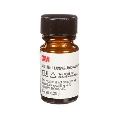 3M Modified Listeria Recovery Broth, mLRBSUP025, 0.25g, 1/CS