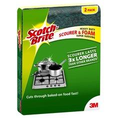 Scotch-Brite® Heavy Duty Foam Scourer 3x Longer 2 Pack-0.jpg