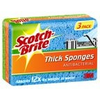 Scotch-Brite Antibacterial Thick Sponges, 3 Pack-0.jpg