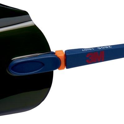 3M™ 2800 Cubregafas de seguridad PC ocular Tono 5 Soldadura recubriento AR 1 cubregafa/bolsa