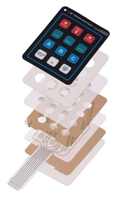3M(TM) Membrane Switch Adh. Construction - Photo