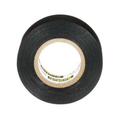 Scotch Prfl Grde HD Vnyl Elct Tape Spr88, blk, 0.22mm, 19mmx6.1m