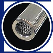 Filtrete™ S201 超微密櫥下型淨水器-不鏽鋼濾網,過濾異物雜質
