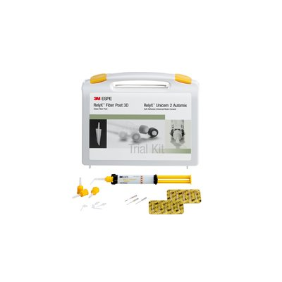 3M ESPE RelyX Fiber Post 3D Glass Trial Kit, 56958