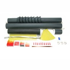 Cold Shrink Silicone Rubber Indoor Skirted Termination Kits