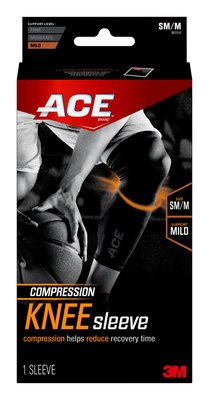 US 901516 Compression Knee Sleeve w Pad