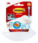 コマンド™ フック 水まわりにも使えるタイプ 石けん・スポンジラック CMBK14-WR