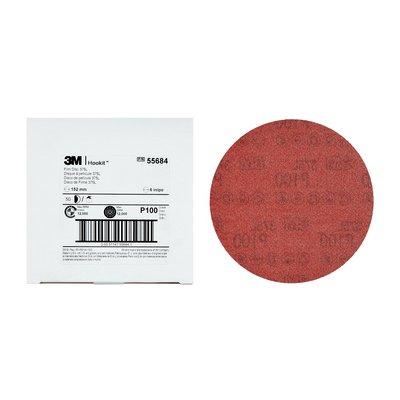 3M™ Hookit™ Filmrondell 375L, P100, 150mm, 0 hål, 250 st/krt