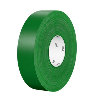 3M™ Vysoko odolná podlahová označovacia páska  971, zelená, 50 mm x 33 m