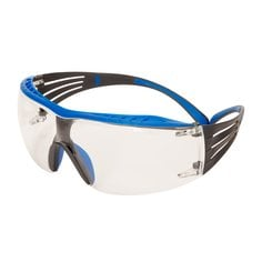3M™ SecureFit™ 400X Safety Glasses, Blue/Grey frame, Clear SF401XSGAF-BLU EU
