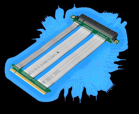 電競級PCI-E X16 延長線