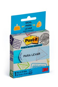 POST-IT® NOTAS PARA LEVAR AZUL 90F (HB004622872)