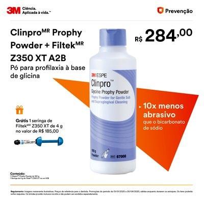 Imagem promocional do item Clinpro Prophy Powder + Filtek Z350 XT A2B Promo.jpg no Q1 em 2020