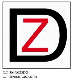 3M(TM) Diamond Grade(TM) Damage Control Sign Ship Zebra