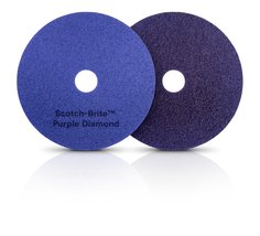 Scotch-Brite(TM) Purple Diamond Floor Pad Plus