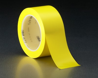 3M (TM) 471 Yellow Vinyl Tape