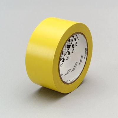 3M(TM) 764 Yellow GP Vinyl Tape