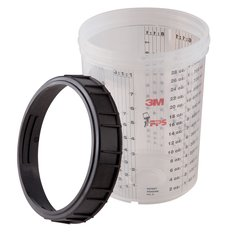 3M™ PPS™ Cup and Collar, MMM16023-1