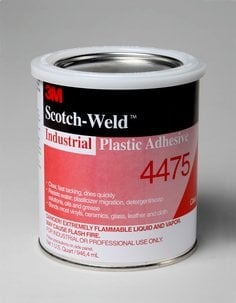 3M(TM) Scotch-Weld(TM) Industrial Plastic Adhesive 4475
