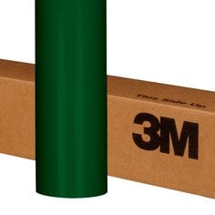 3M Controltac Graphic Film w Comply 180C-56 Dark Green