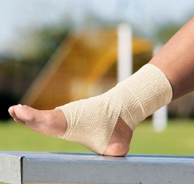 """Self-Adhering Elastic Bandage, 3"""" Width, Tan"""