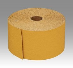 3M™ Stikit™ Gold Paper Sheet Roll 216U, 2-3/4 in x 45 yd P180 A-weight, 10 per case