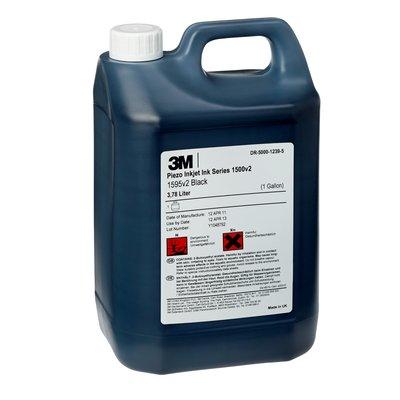 3M™ Solvent Piezo Inkjet Ink 1595v2 Black (3.785 liters)