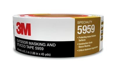 3M(TM) Outdoor Masking and Stucco Tape 5959