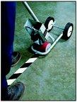 Lane Marking Using Vinyl Polyethylene Film Tape Application