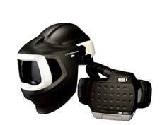 Speedglas welding helmet 9100 MP with Adflo PAPR system