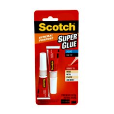 Scotch® Super Glue Liquid 0.07oz