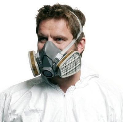 3M™ Reusable Half Face Mask 6200