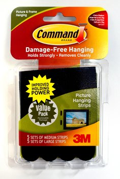 Command™ Medium and Large Picture Hanging Strips VP