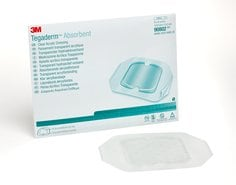 Tegaderm Absorbent Clear Acrylic Dressing, 90802